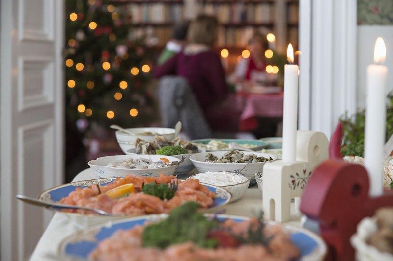 Buffet de Noël à la suédoise
