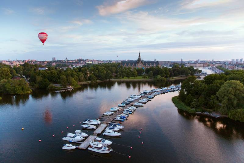 View over Djurgården