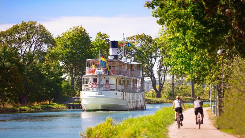 Summer at Göta Kanal, West Sweden