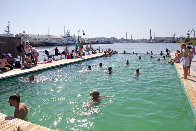Allmänna badet, Gothenburg