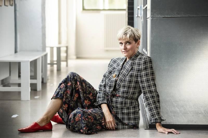 Fashion designer Anna Lidström