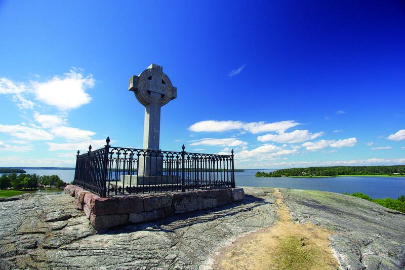 Das Ansgar-Denkmal (Ansgar-Kreuz)