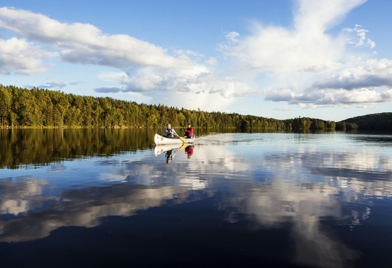 Explore Dalsland in your canoe