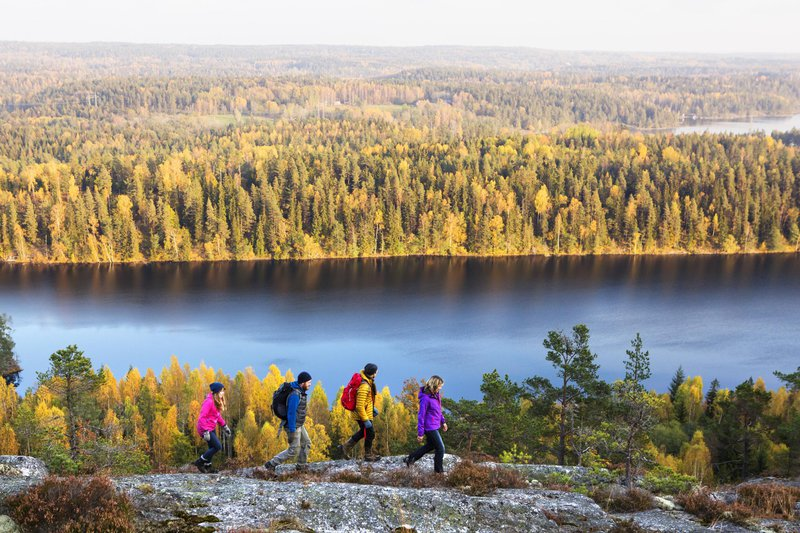 Hiking in Dalsland, West Sweden