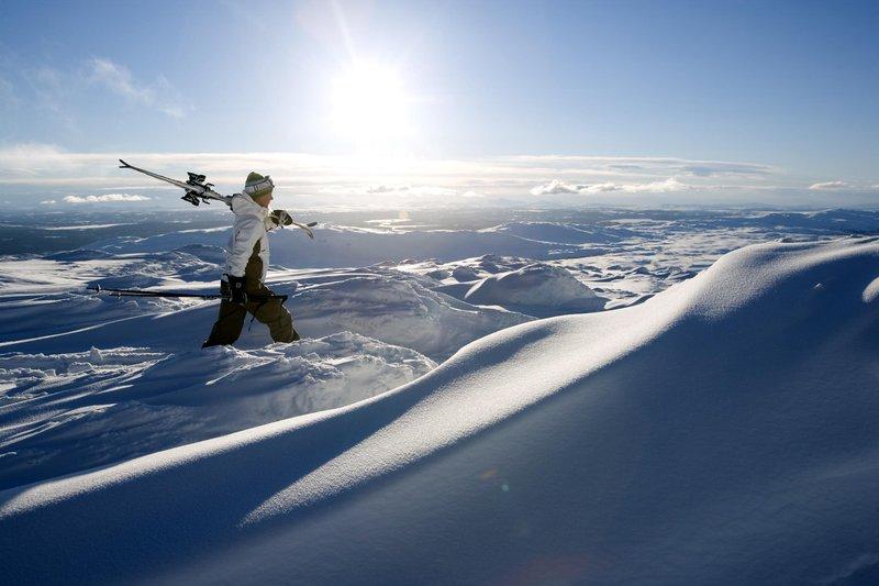 Skiing in Åre