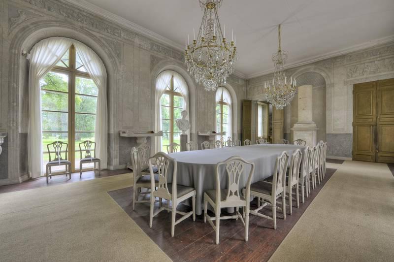 Interior of Gustav III's Pavilion, Stockholm
