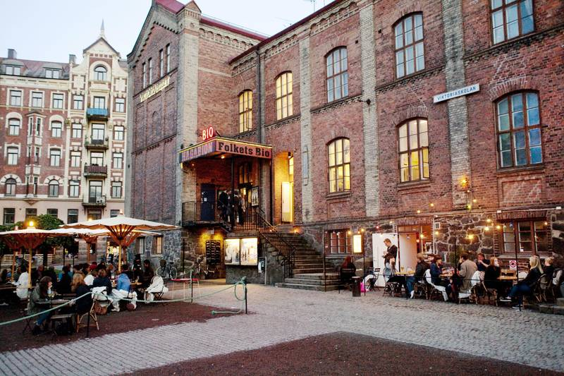 The Hagabion cinema and cafe in Gothenburg