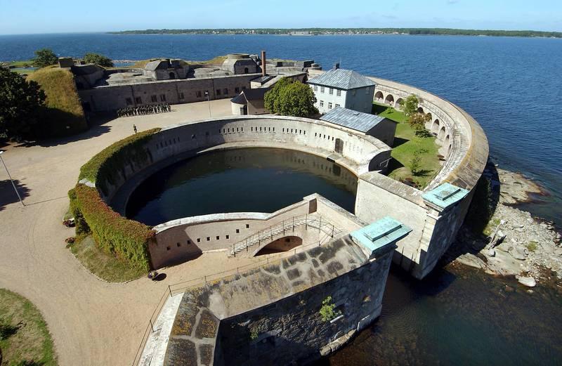 Festung Kungsholmen in Karlskrona, Blekinge