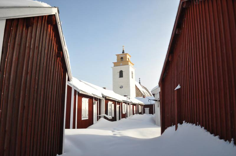 Gammelstad Church Town in northern Sweden