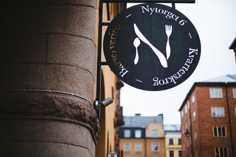 Exterior of restaurant Nytorget 6, Stockholm