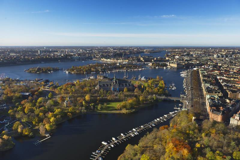 Herbst in Stockholm