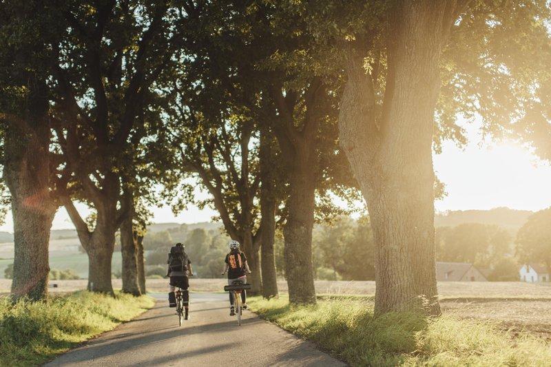 Sydostleden by bike in Skåne