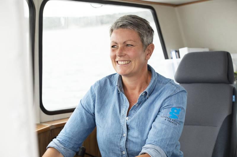 Annika Kristensson, Gunnars Boat Tours
