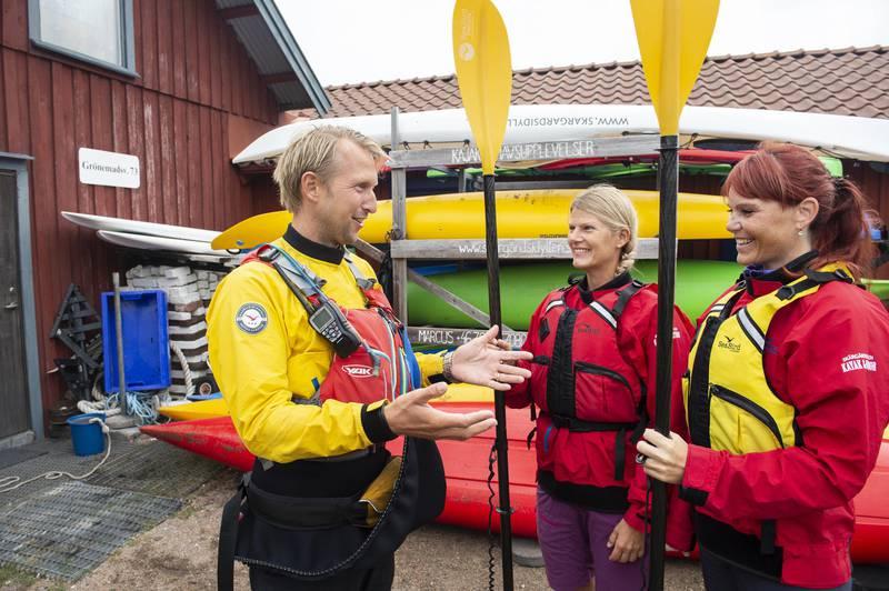 Paddling in West Sweden