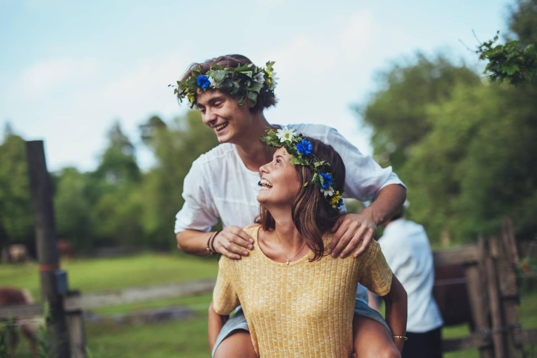 The Nordic midsummer night headband