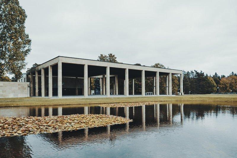 Skogskyrkogården, imaginé par Gunnar Asplund et Sigurd Lewerentz
