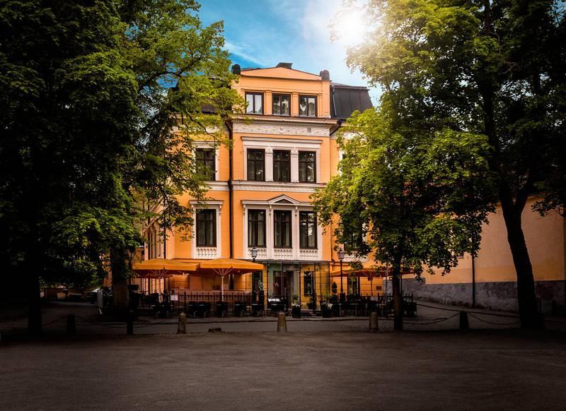 Die Villa Anna in Uppsala