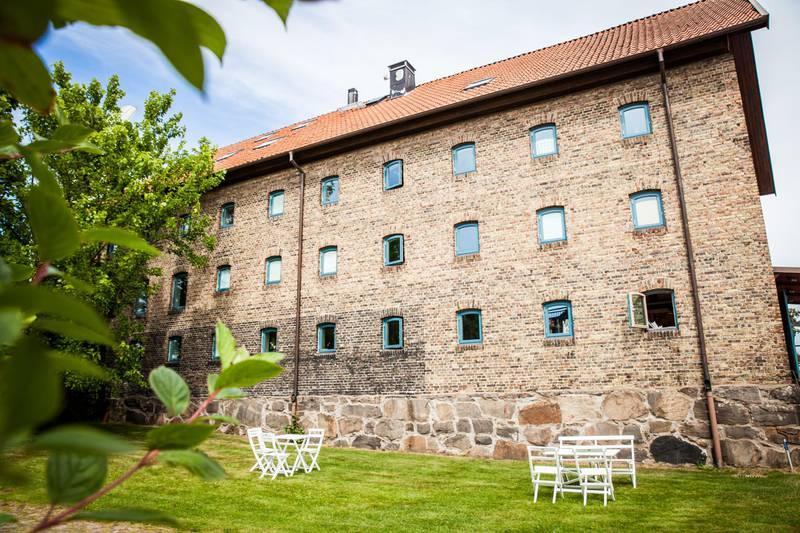 The garden of RIAN Design Museum, Halland