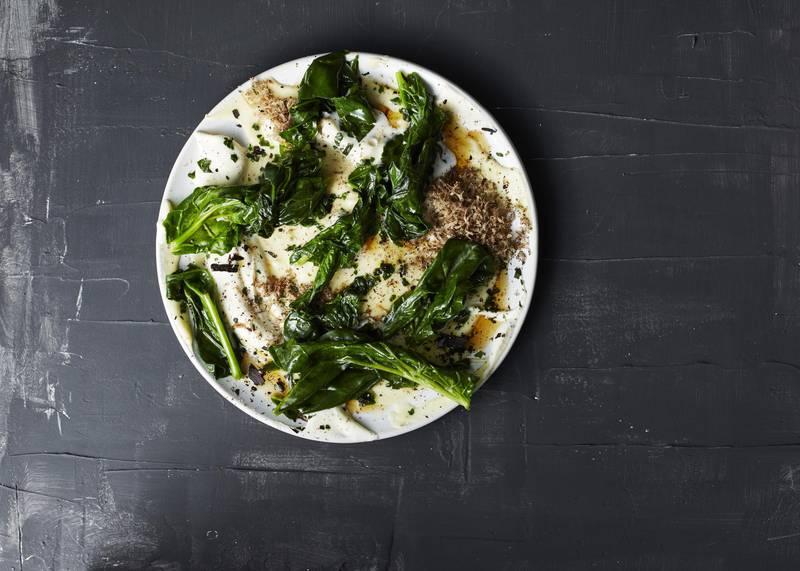 Vegetarian meal at Rutabaga, Stockholm