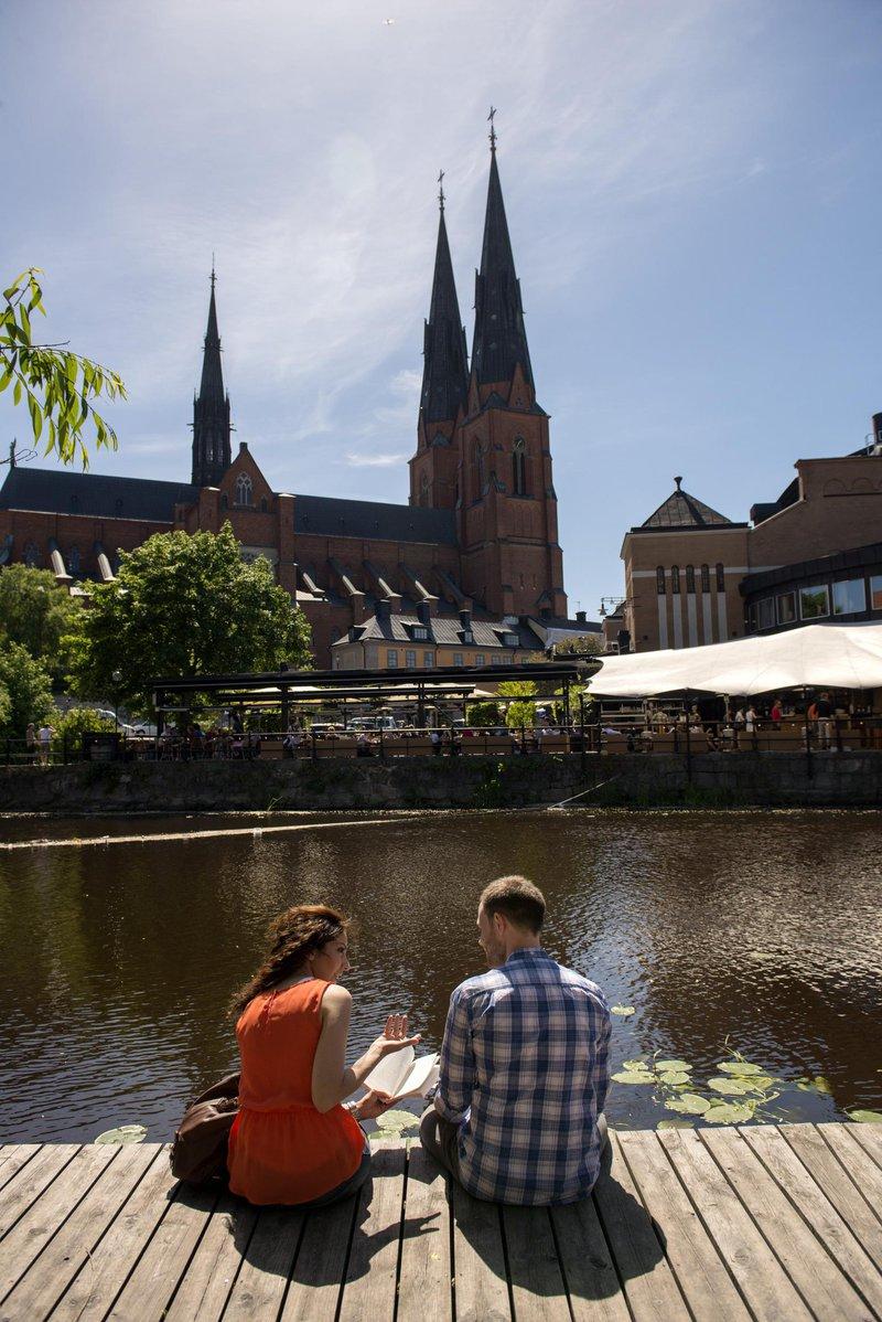 La cathédrale d'Uppsala