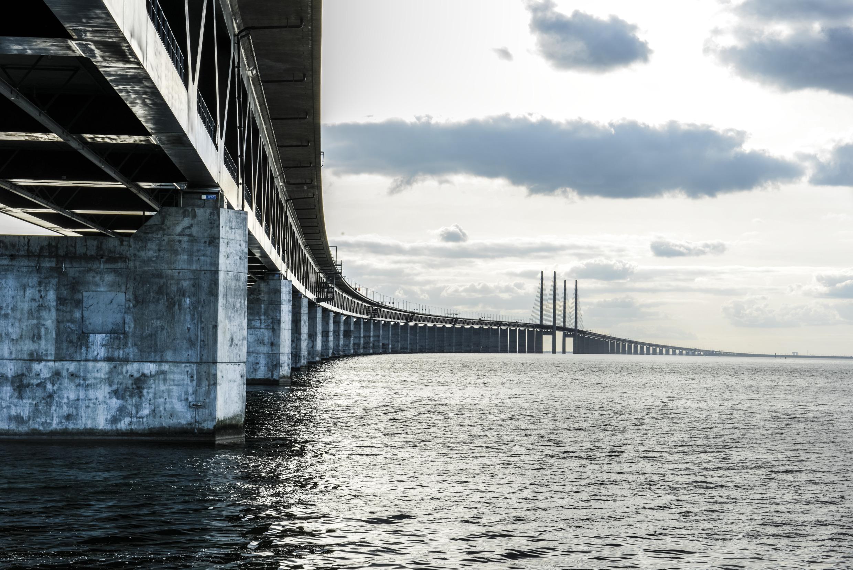 Malmo And The Bridge Visit Sweden